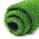 FOGUO Césped Artificial 2x6m, Hierba Artificial para Terraza, Jardín de Césped Sintético para Jardín Paisaje Balcón Oficina Decoración del Hogar