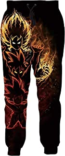 Women/Men Unisex Dragon Ball Z Joggers Sweatpants 3D Anime Print Track Baggy Trousers