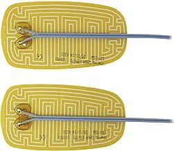 12V Polyimid Heizfolie,25W PI Polyimid-Heizplatte Polyimid Heizfolie 100x100mm