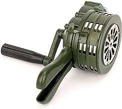 Teekit handslinger sirenhoorn 110 dB handmatig bediend metalen alarm luchtaanval noodbeveiliging