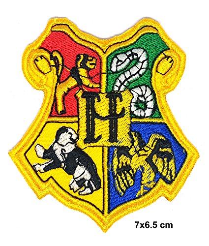 Harry Potter Hogwarts School Crest Embroidered Cloth