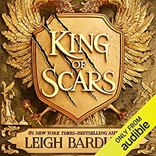King of Scars audiobook cover art