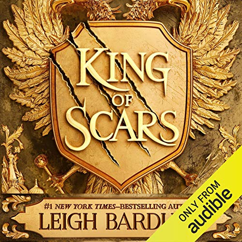 Page de couverture de King of Scars