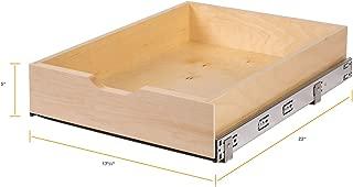 Knape & Vogt WMUB17-4-ASP Soft-Close Wood Drawer Box, 5