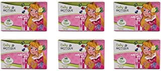 Pack of 6 - Baby Biotique Disney Baby Aurora Bio Almond Nourishing Soap - 75g