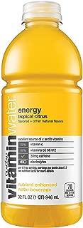 Vitaminwater Energy, Tropical Citrus, 32 Oz Bottle (Pack of 6)