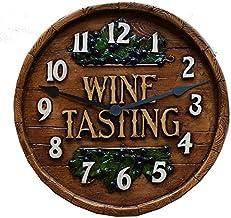 product image for Piazza Pisano Wine Decor Wine Barrel Tasting Room Wall Clock