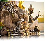 Elefantengottheit in Thailand Format: 60x40 auf Leinwand,