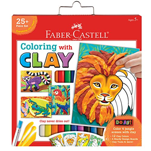 Faber-Castell Do Art Coloring with Clay - Modeling Clay Art for Kids
