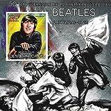 Sammelbare Briefmarken - Beatles 50th Anniversary Blech mit John Lennon MNH Imperforate Block/Zentralafrika / 2014 -