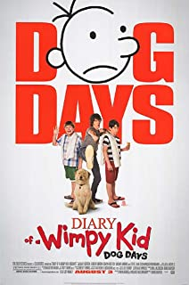 Diary of a Wimpy Kid: Dog Days 2012 D/S Rolled Movie Poster 27x40