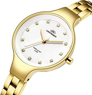 Louis Martin Casual Watch For Women Analog Stainless Steel - N-22