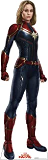 Advanced Graphics Captain Marvel Life Size Cardboard Cutout Standup - Captain Marvel (2019 Film)