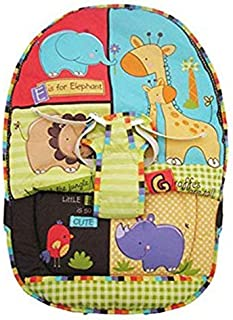 Replacement Seat Pad w/straps LUV U Zoo, How Now Brown Cow & Comfy Time Bouncer
