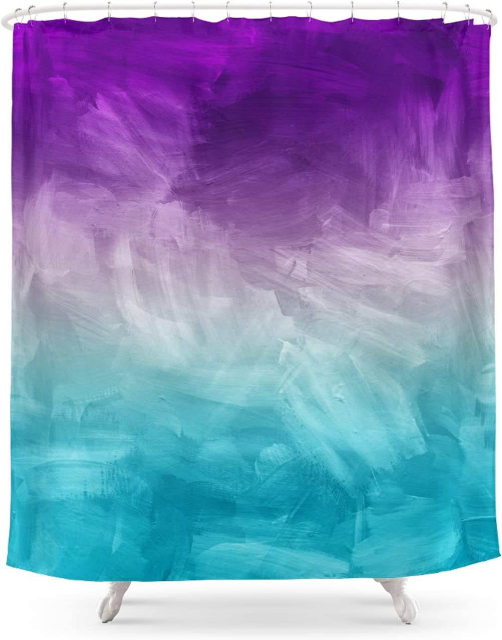 Society6 Purple Aqua Teal Ombre Painting Tucson Mall Rapid rise by Watercolor Pattern H