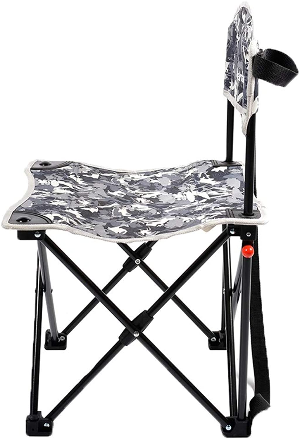 Nevy Camping Folding Chairs Ultralight Portable Small Stool for Fishing Beach Picnic Festival Concert,Camouflage