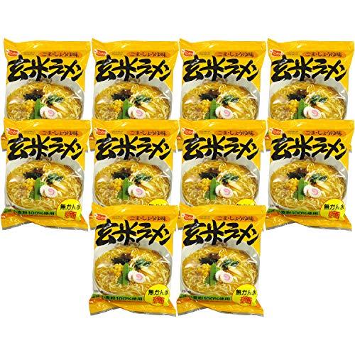 健康フーズ 玄米ラーメン 1食×10個