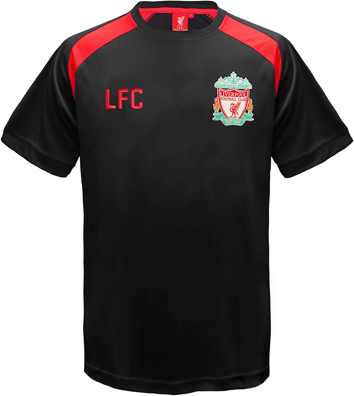 Icon Sports Men Liverpool Custom Name /& Number Soccer T-Shirt Cotton Tee 01 Large