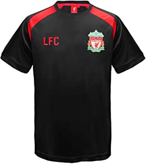 a62c9fe7678 Liverpool FC Official Football Gift Mens Poly Training Kit T-Shirt