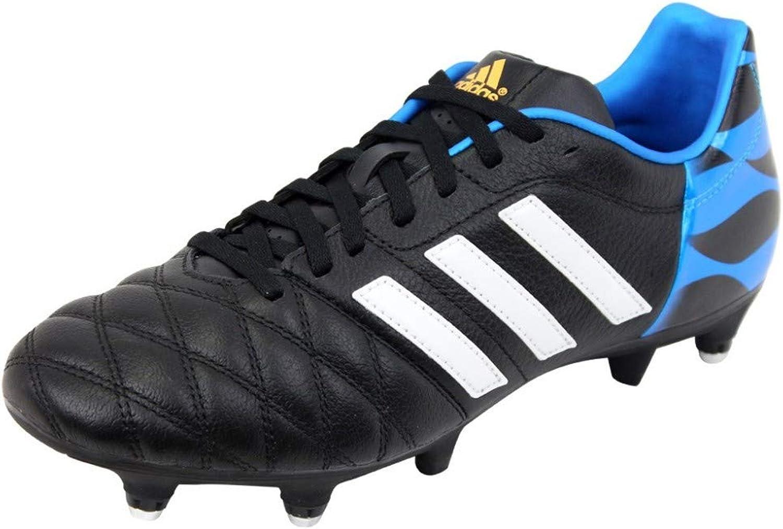 11 Nova XTRX SG Football Boots Black Running White Solar bluee