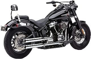 Cobra 18-19 Harley FXBB NH Series Slip-On Exhaust (Chrome / 3