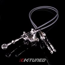 K-Tuned Race-Spec Shifter Cables w/Bracket for K24Z7 Trans with RSX-S Selector