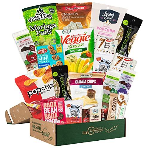 Vegan Healthy Snack Box Variety Pack