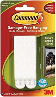 8-Medium and 12 Large Pairs 4-Small White Command Picture /& Frame Hanging Strips Value Pack QBVFC