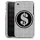 DeinDesign Coque Compatible avec Apple iPhone 3Gs Étui Housse Dollar Paillettes Diamants