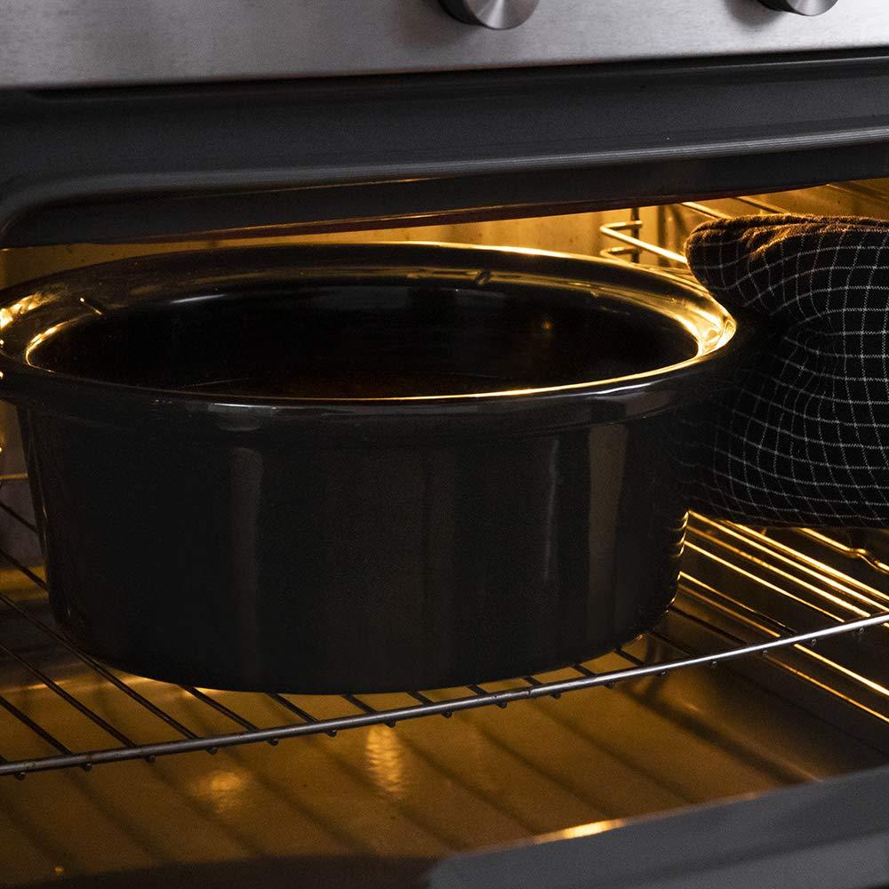 Cecotec Olla de cocción Lenta Chup Chup de 5,5 litros, cubeta cerámica con Forma Ovalada, Tapa de Cristal con Junta de Silicona, un Completo recetario(Mecánica): Amazon.es: Hogar