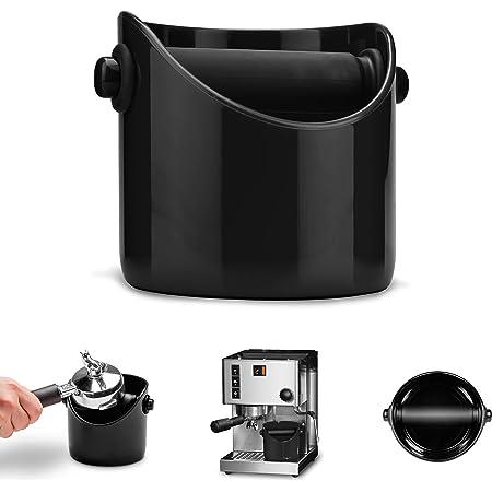 Dreamfarm DFGR1181 Marco Noir (pot pour récupérer le marc de café)
