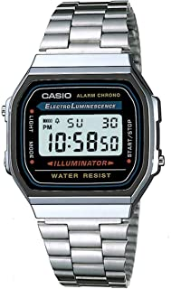 Casio A168WA-1 Classic Digital Watch