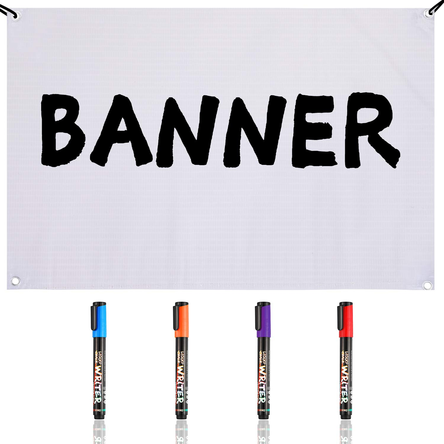 CBD Sold Here Banner and CBD Sign Set 2 Foot by 4 Foot Banner /& 2 18 Inch by 24 Inch Sign Set