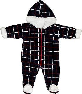 Baby Shoora fur baby bodysuit printed for boys Navy-0-3Month