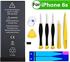 Battery Replacement for iPhone 6S, COSOOS 1715 mAh...