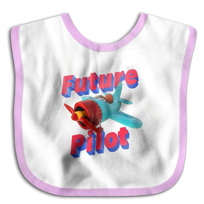 Cartoon Plane Future Pilot Adjustable Toddlers Max 75% Challenge the lowest price of Japan OFF Newborn Bibs