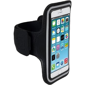 CoverKingz Brassard pour Samsung Brassard de Sport avec Porte-Cl/és Bandage de Course de Course de Course de Sport Housse de T/él/éphone Portable Bracelet Noir
