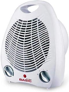 Basic Home S2201596 Calefactor Portatil Basic Home 1000-2000W Blanco