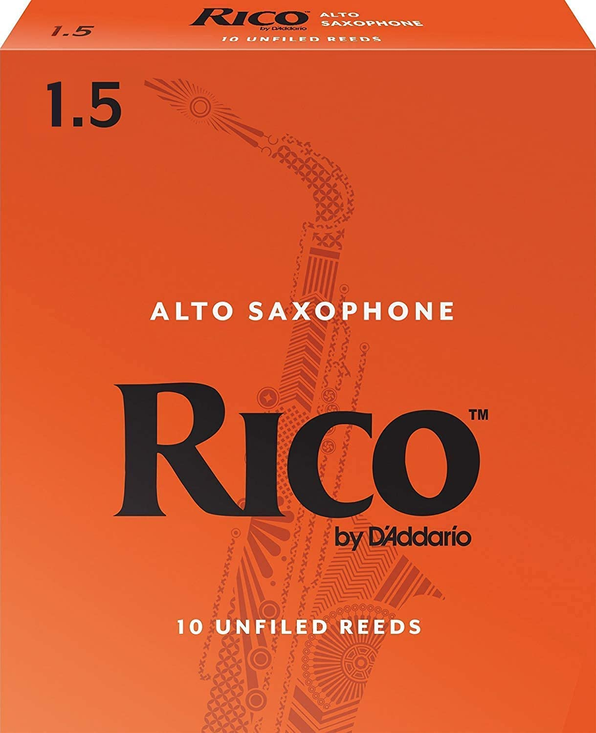D'Addario shop Woodwinds Alto Special Campaign Sax Reeds RJA10 1.5 Strength 10-Pack