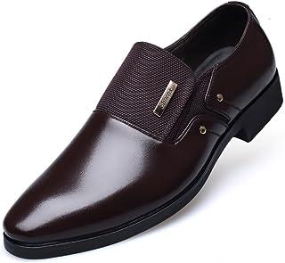 CMM Men's Winter Leather Shoes Business Formal Plus Size