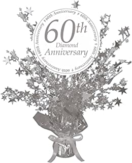 60th anniversary centerpieces