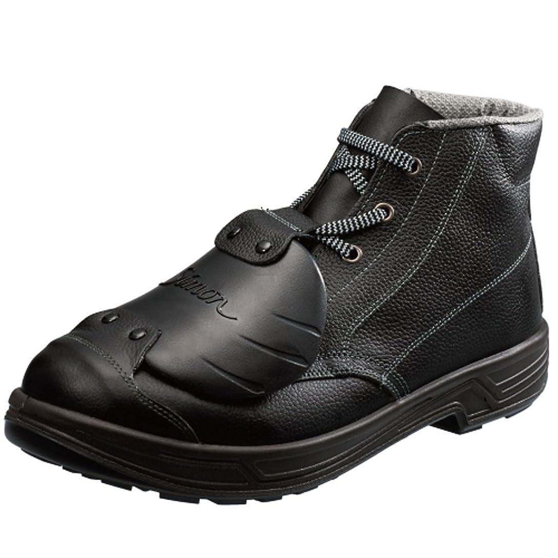 亡命深いランドリー[シモン] 【SS22】樹脂甲プロD-6 樹脂製甲プロテクタを搭載 広い範囲で足を保護し、重量落下物から足甲を守るJIS規格合格品(付加的性能M)の安全靴