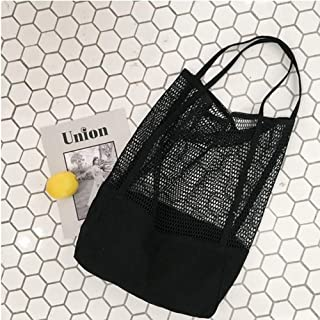 Large Mesh Beach Tote Bag with Zipper and Insulated Picnic Cooler Leak-Proof for Beach Pool Outdoor Trave Gym