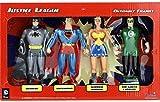 NJ Croce Justice League 4-Piece Bendable Boxed Set