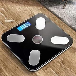 Báscula electrónica profesional del hogar digital de grasa corporal inteligente de pesaje Conexión Equilibrio Composición Báscula Báscula de baño durable ( Color : Solar energy B )