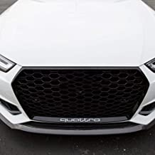 FidgetKute RS4 Style Type Gloss Black Front Grill for Audi A4/S4 B9 2017-18