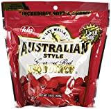Kenny's Wiley Wallaby Gourmet Licorice, Red, 24 Ounce
