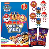 Assorted Flavor Decorated PAW Patrol Lollipops Rings