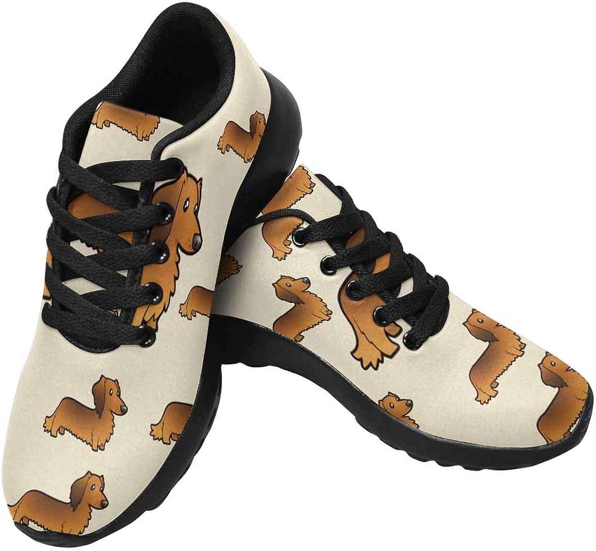 InterestPrint Women's Cross Trainer Trail Running Sneakers