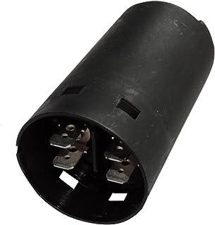 AERZETIX   C18729   Startkondensator für Motor   Elektrolyt   40uF ±10%   Ø36.5x68.5mm   Schwarzer zylindrischer Kunststoffkörper